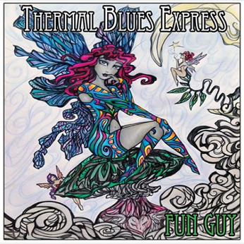 Thermal Blues Express CD Cover Fun Guy
