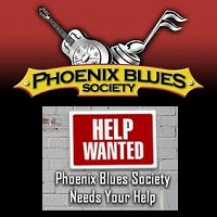 Phoenix Blues Website Banner and Logo